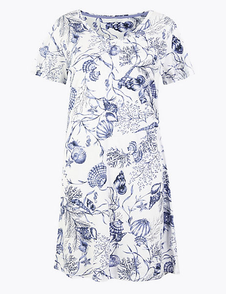 Cotton Modal Cool Comfort™ Shell Nightdress