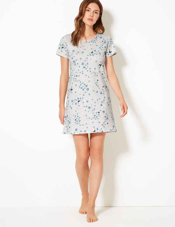 3afdec1df3ad4 Ladies Nightdresses | Short & Long Cotton Nightdress & Nighties | M&S