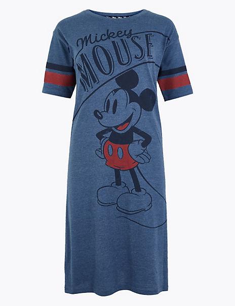 Mickey Mouse™ Print Short Nightdress