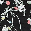 Floral Print Short Sleeve Pyjama Top, BLACK MIX, swatch