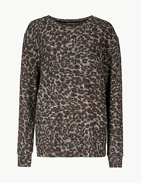 Cosy Knit Animal Lounge Top