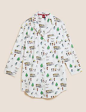 Camisón 100% algodón de Snoopy™