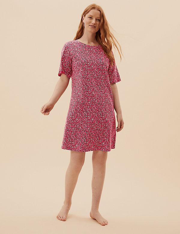 Pure Cotton Animal Short Nightdress