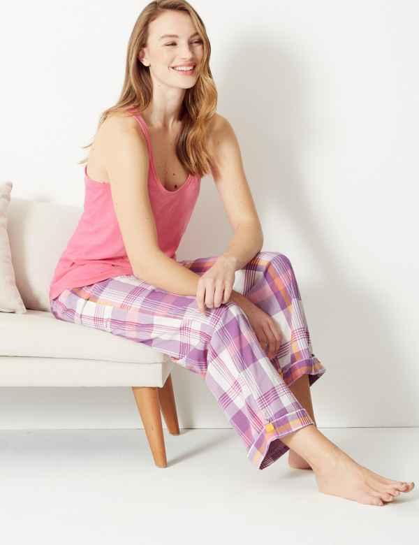 e0aa5e131c Sleeveless Vest Pyjama Top