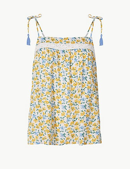 Ditsy Floral Camisole Top