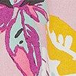 Tropical Strappy Cami Pyjama Top, PURPLE MIX, swatch