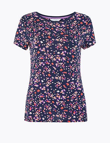 Ditsy Floral Pyjama Top
