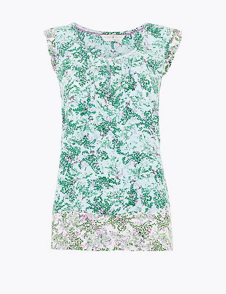 Floral Pyjama Top
