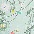 Floral Print Ruffle Sleeve Nightdress, SAGE MIX, swatch