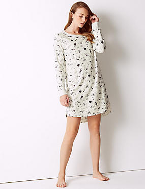 Cotton Rich Llama Print Nightdress