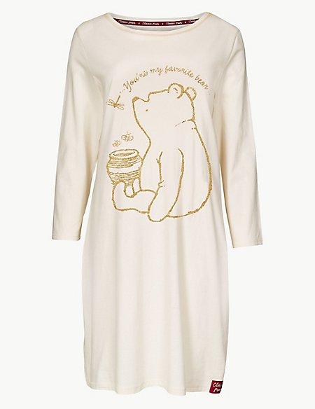 Pure Cotton Winnie the Pooh & Friends™ Nightdress