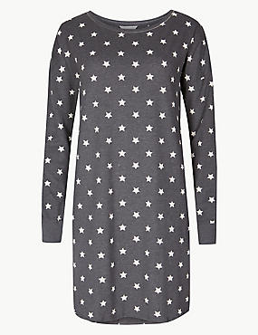 Cotton Rich Star Print Nightdress