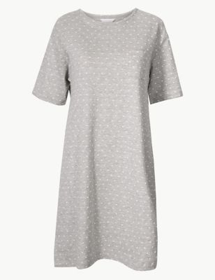 Polka Dot Short Nightdress by Marks & Spencer