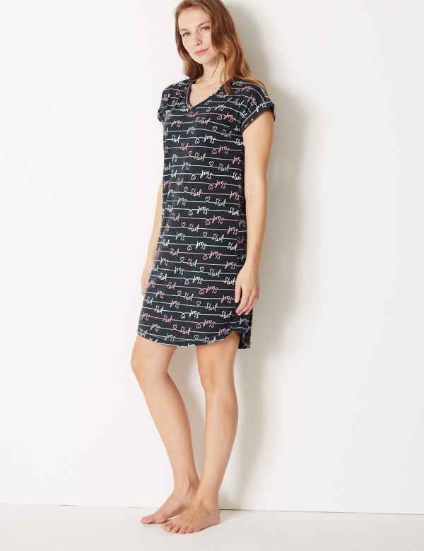 Sleep Short Nightdress. New. M S Collection 97de56d8d