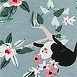 Pure Cotton Jungle Short Nightdress, BLUE MIX, swatch