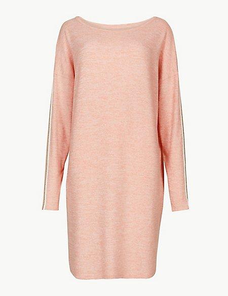 Cosy Long Sleeve Lounge Dress