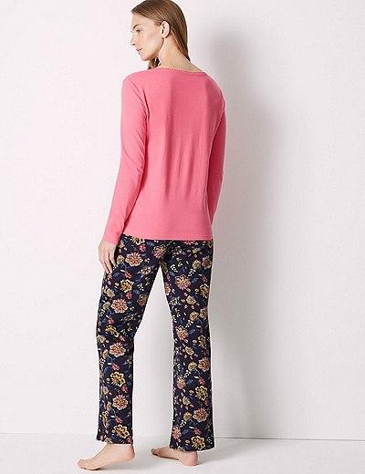 6e8785100f9b Pure Cotton Floral Print Pyjama Set
