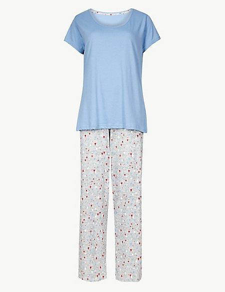 Pure Cotton Hot Air Balloon Pyjama Set