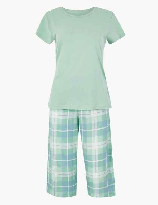 d66660e934ec Pure Cotton Striped Pyjama Set