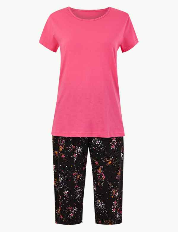 3cbe9832bb93 Pure Cotton Seahorse Pyjama Set