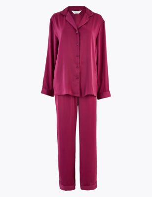 M&S COLLECTION Satin Pyjama Set