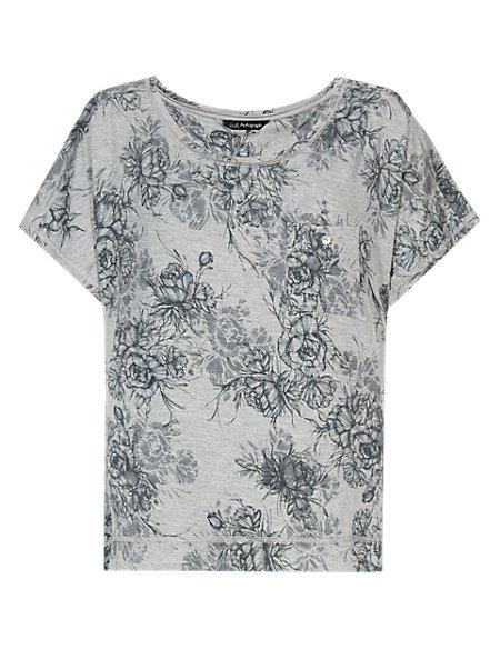 Floral Pyjama T-Shirt