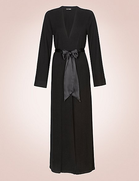 Luxurious Pure Cashmere Long Dressing Gown Rosie For Autograph Ms