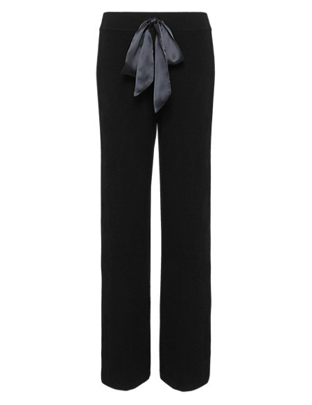 d5b75e98ded8 Pure Cashmere Belted Pyjama Bottoms