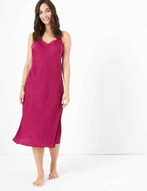 retro original shop for official Ladies Nightdresses | Short & Long Cotton Nightdress ...