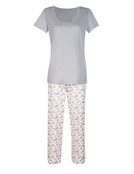 Pure Cotton Floral Pyjamas