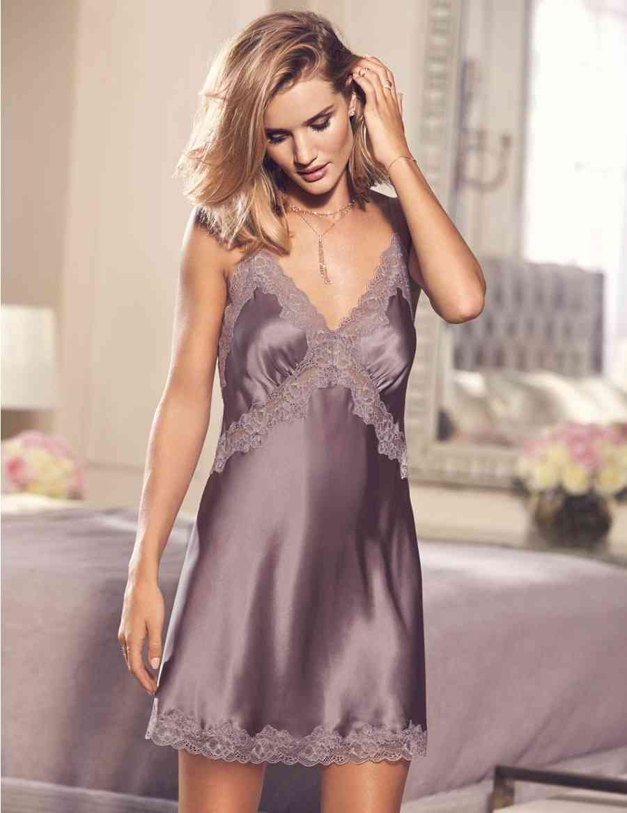 a124a0b1cd Pure Silk French Designed Lace Trim Chemise