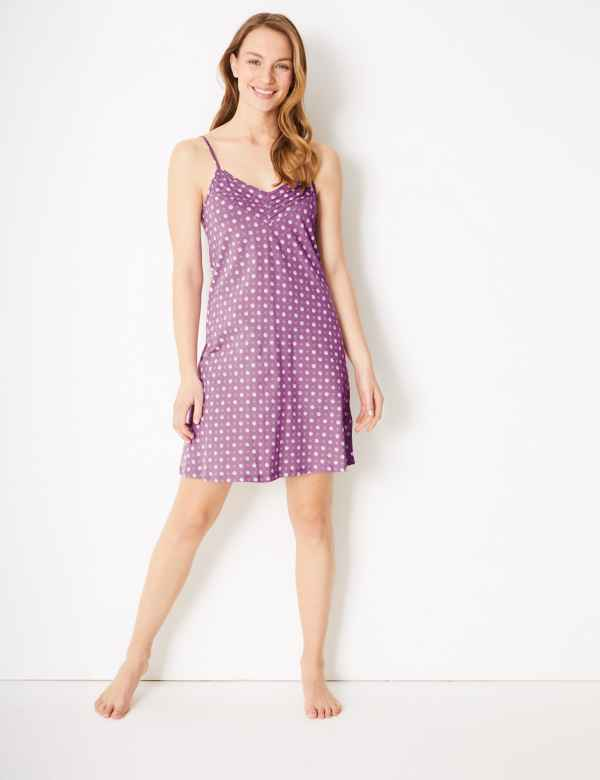 2dc686fee3bb4 Ladies Nightdresses | Short & Long Cotton Nightdress & Nighties | M&S