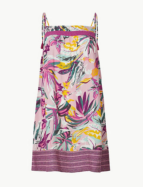 Tropical Strappy Chemise
