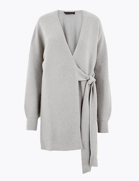Cashmere Short Dressing Gown