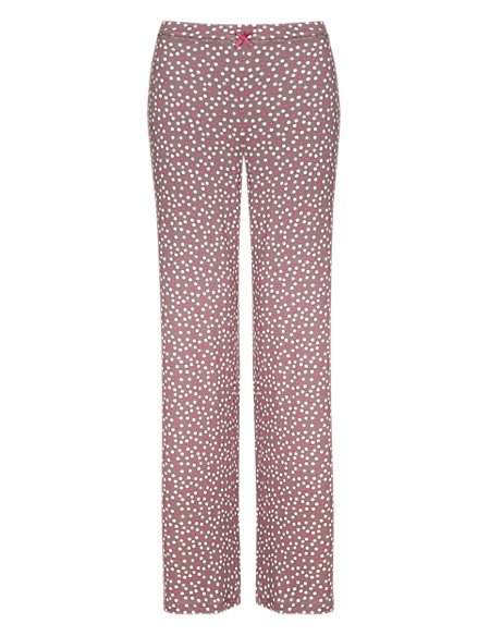 Scattered Spotted Pyjama Bottoms