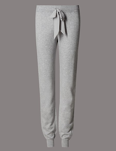 28fd4957809d Product images. Skip Carousel. Cuffed Hem Pyjama Bottoms with Cashmere