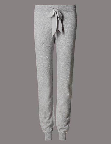 8c6f3755f9f4 Product images. Skip Carousel. Cuffed Hem Pyjama Bottoms with Cashmere