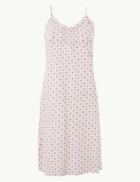 Cool Comfort™ Cotton Modal Strappy Chemise