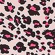 Animal Print Chemise, PINK MIX, swatch