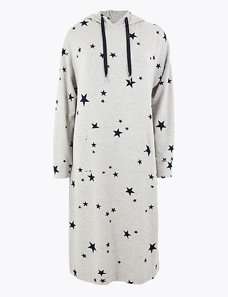 Flexifit™ Star Print Long Lounge Dress