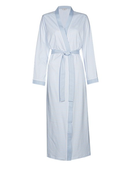 Pure Cotton Dressing Gown with Cool Comfort™ Technology