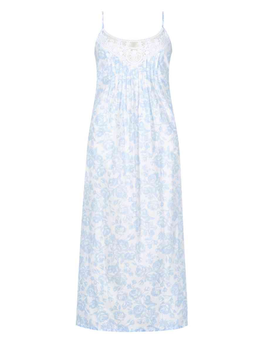 d86f37c8ea Pure Cotton Floral Pintuck Nightdress with Cool Comfort™ Technology ...
