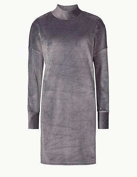 Supersoft Fleece Lounge Dress