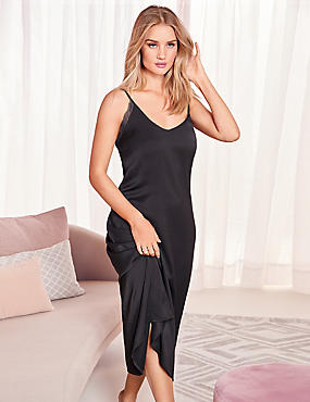Satin Strappy Nightdress