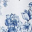 Cool Comfort™-Nachthemd aus Baumwolle und Modal mit Blumenmuster, WEISS MELANGE, swatch