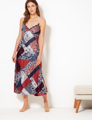 b228b7c33979 Ladies Nightdresses | Short & Long Cotton Nightdress & Nighties | M&S