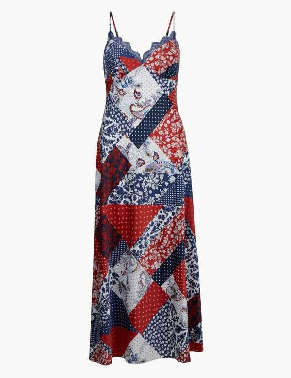 18ce057863a Ladies Nightdresses | Short & Long Cotton Nightdress & Nighties | M&S