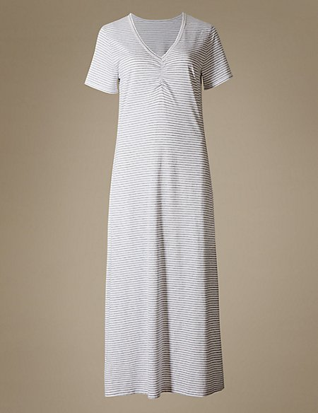 Cotton Blend Nightdress with Cool Comfort™