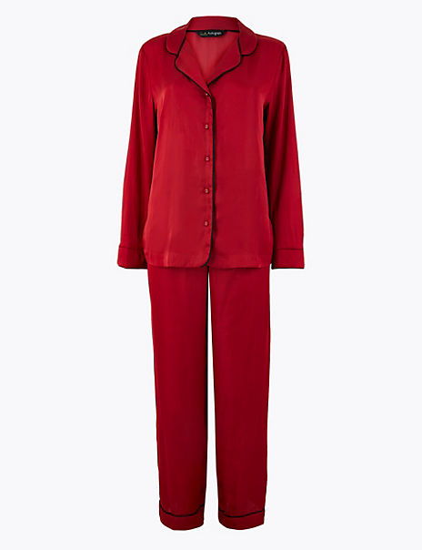 Luxurious Satin Pyjama Set