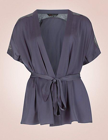 Satin Wrap Pyjamas
